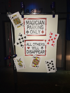 magician parking